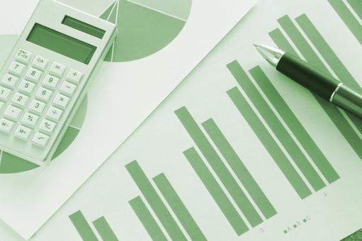 Business materials Green