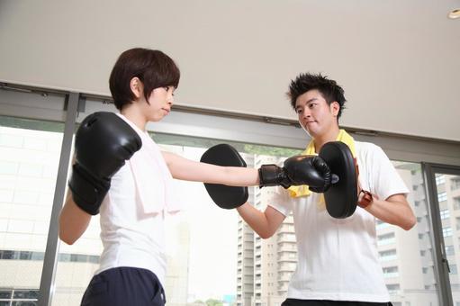 Boxing training 12