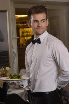 Restaurant Waiter 1