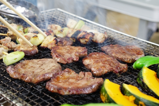 Barbecue at home