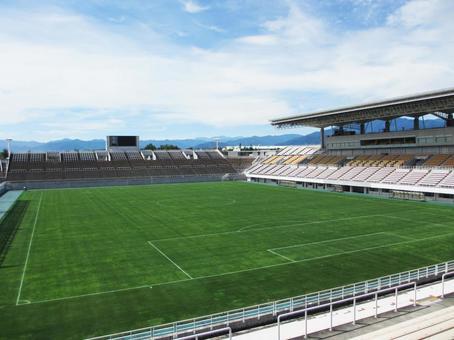 Unmanned football stadium