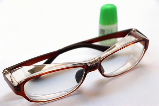 Pollen guard eyeglass eye drops