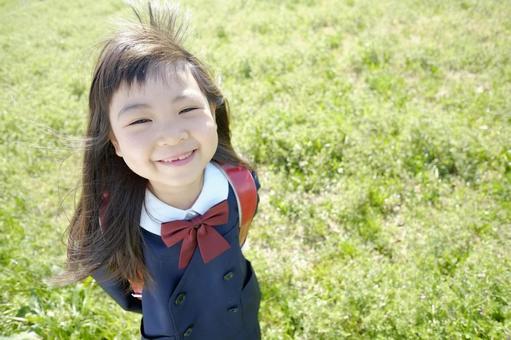 Elementary school girl 9