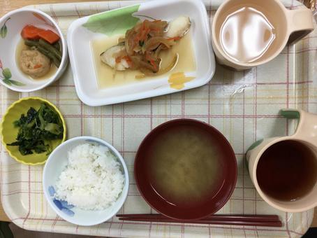 Dinner for the elderly home