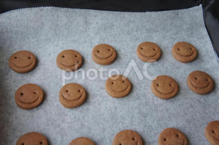 手作りクッキーの写真