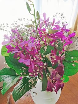 Bouquet of denfare and mokara, part 1