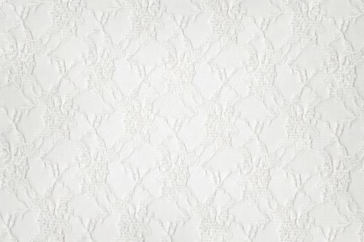 White lace full pattern flower pattern Techa