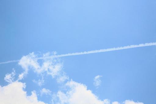 Blue sky Hikoki cloud 1