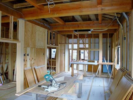 목조 주택 건설 현장 32