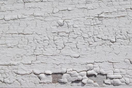 갈라진 흰색 페인트