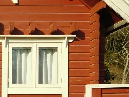 キャンプ コテージ 窓