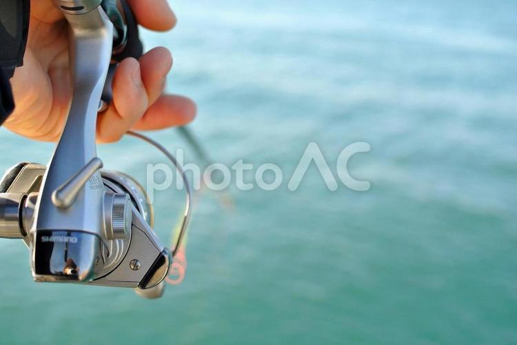 釣りの風景の写真