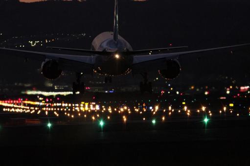 밤의 착륙