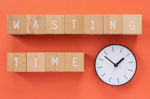 """Waste of time 