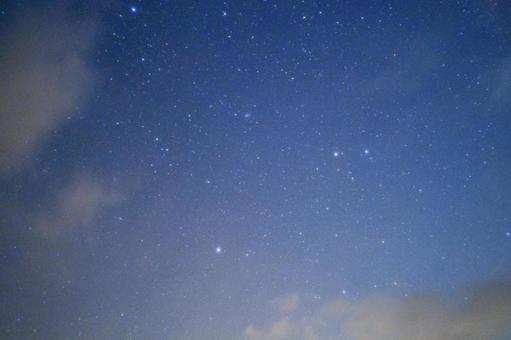 Evening starry sky 2