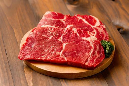 For beef steak (shoulder loin)