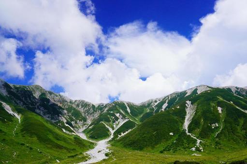 Northern Alps (view from Raichosawa)