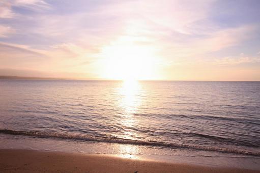 Okinawa Morning glow
