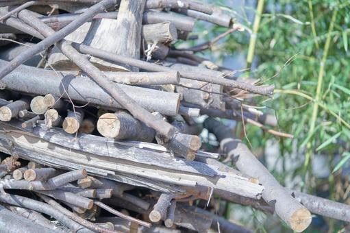 벌채 된 목재