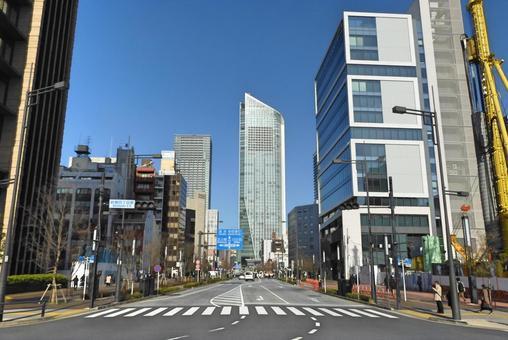 새로운 호랑이 거리 (도쿄도 미나토 구)