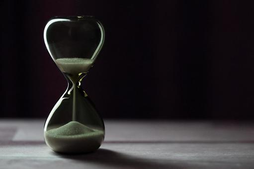 모래 시계 시간의 흐름 이미지 소재