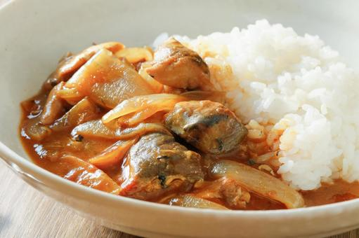 Salmon can curry