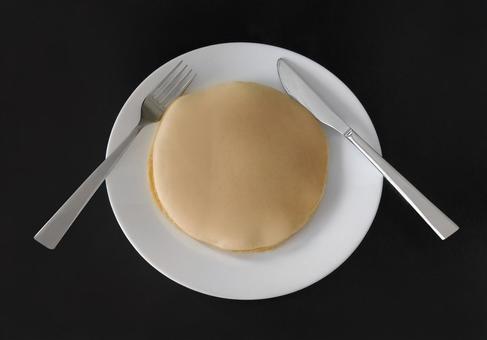 Handmade pancakes
