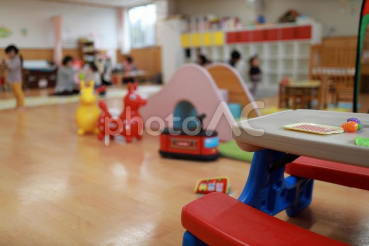 保育園のキッズルーム2の写真