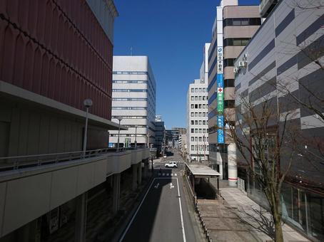 Niigata City Bandai Cityscape