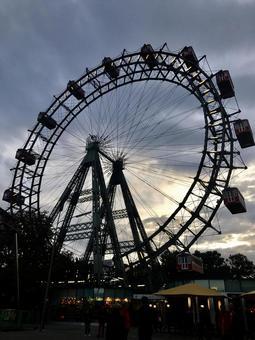 Ferris wheel of Vienna