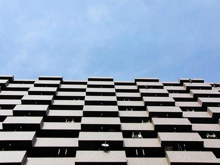 High-rise geometric pattern