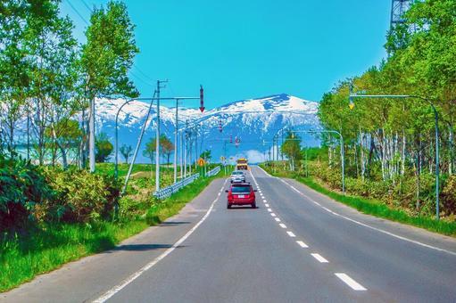 Niseko mountain range (Hokkaido)