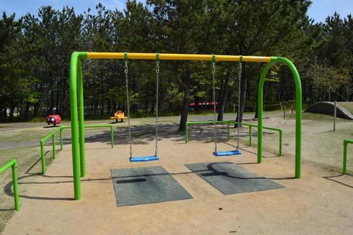 Children's park playground