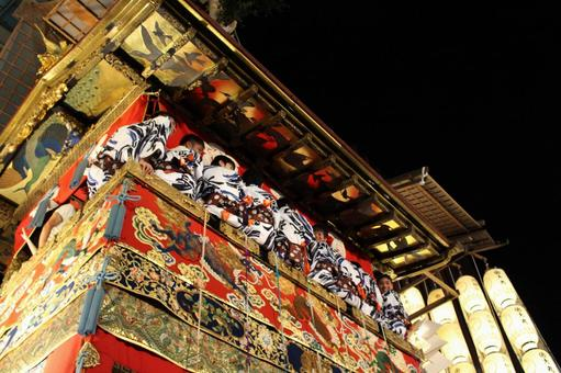 Gion festival long sword hoko