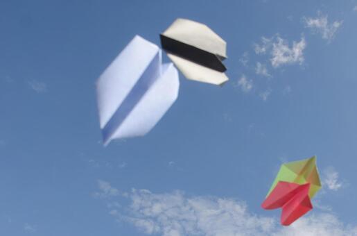 Paper flying machine 53