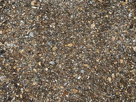 礫石-時尚的棕色花園礫石