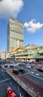 Scenery of Shinjuku New South Exit