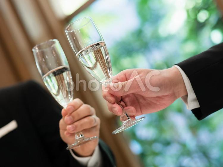 乾杯イメージの写真