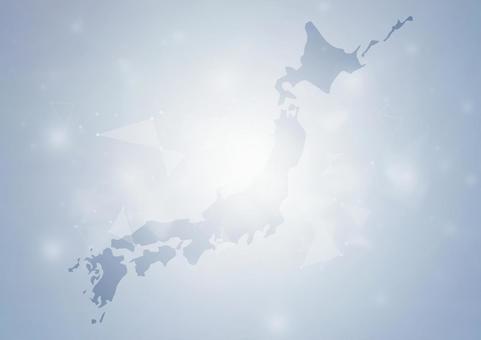 일본지도와 비즈니스 이미지 배경