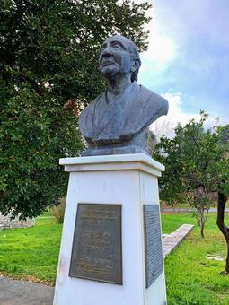Greece 2 Statue of Professor Keiji Kokubu