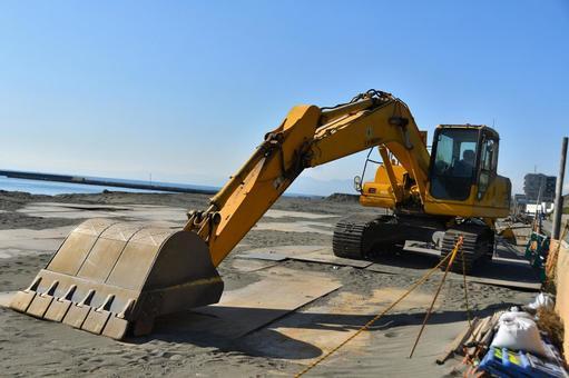 車輛挖掘機