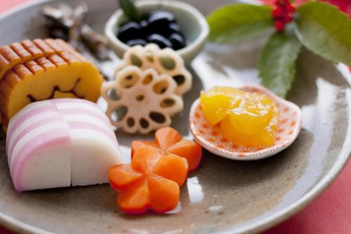 One plate osechi