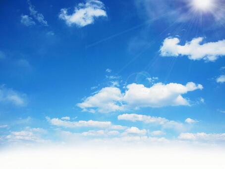 Soft cloud sky 0114