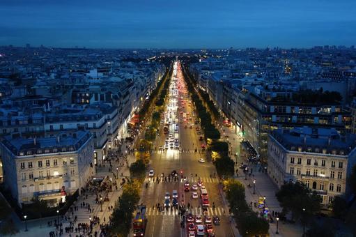 파리의 거리 풍경 8