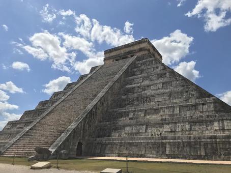 Chichen Itza, the Mexican pyramid