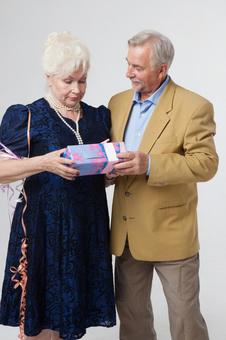 Party foreign senior couple 27