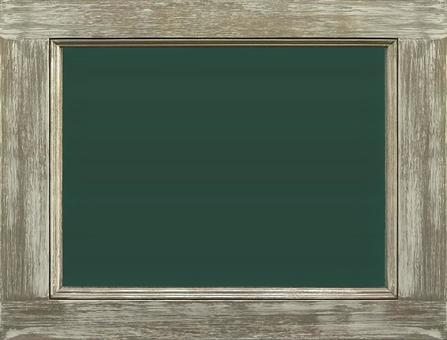 고풍스러운 나무 프레임 칠판 | 배경 소재