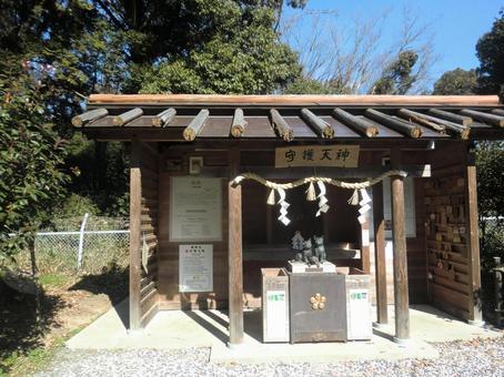 Jogutenmangu's guardian Tenjin (Takatsuki City)
