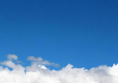 맑은 푸른 하늘과 구름 3