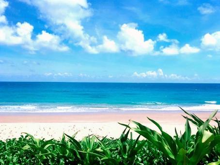 Beautiful sea and Shirahama Taiwan Taiwan beach